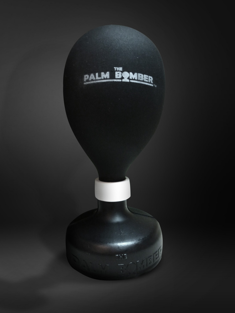 The Palm Bomber - The Original Fart Catcher [BLACK]